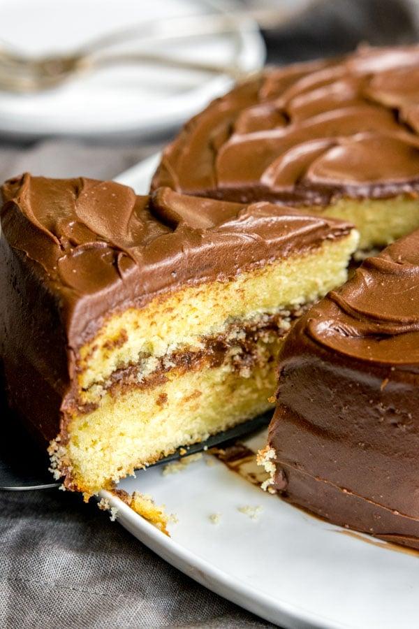 Basic Yellow Pound Cake Cake Mix Doctor