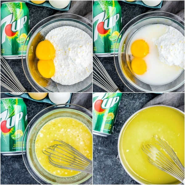 how to make a 7UP Lemon Tart filling