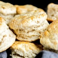 Baking Powder Biscuits layers
