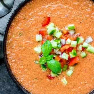 fresh Gazpacho Soup