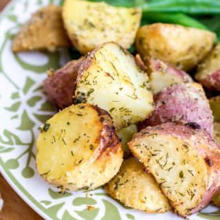 easy Roasted Ranch Potatoes