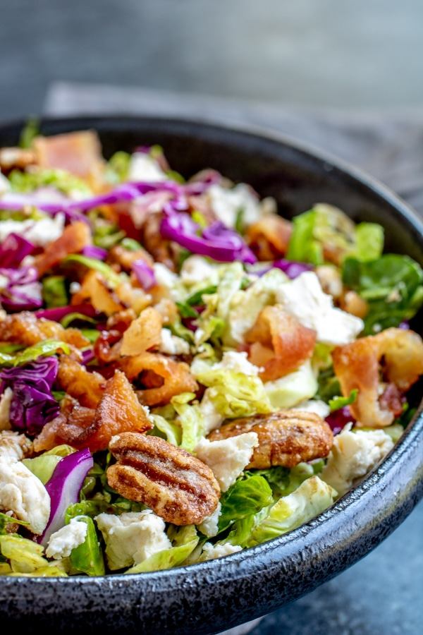 tangy Brussels Sprouts Salad