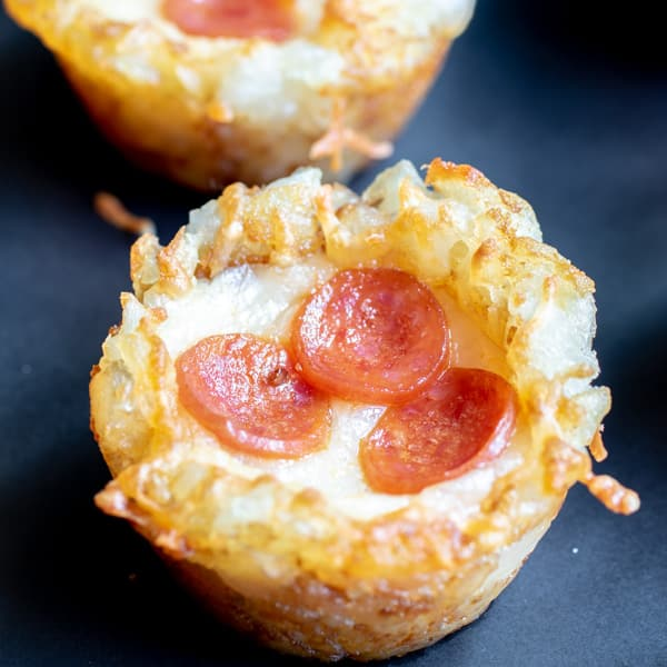 bite size Pizza Tots appetizer