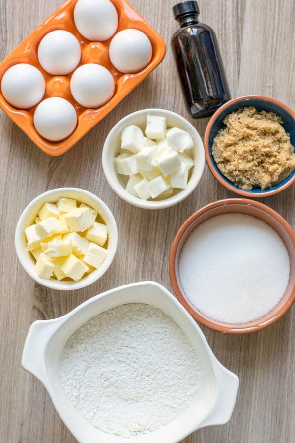 Snickerdoodle Cookies ingredients