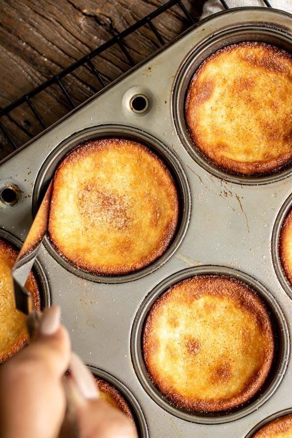 baking Portuguese Milk Tarts