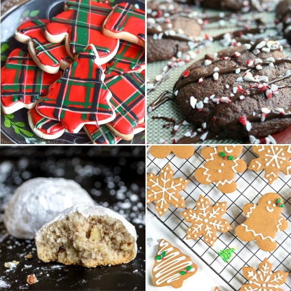 The best Christmas cookies that are traditional cookies.
