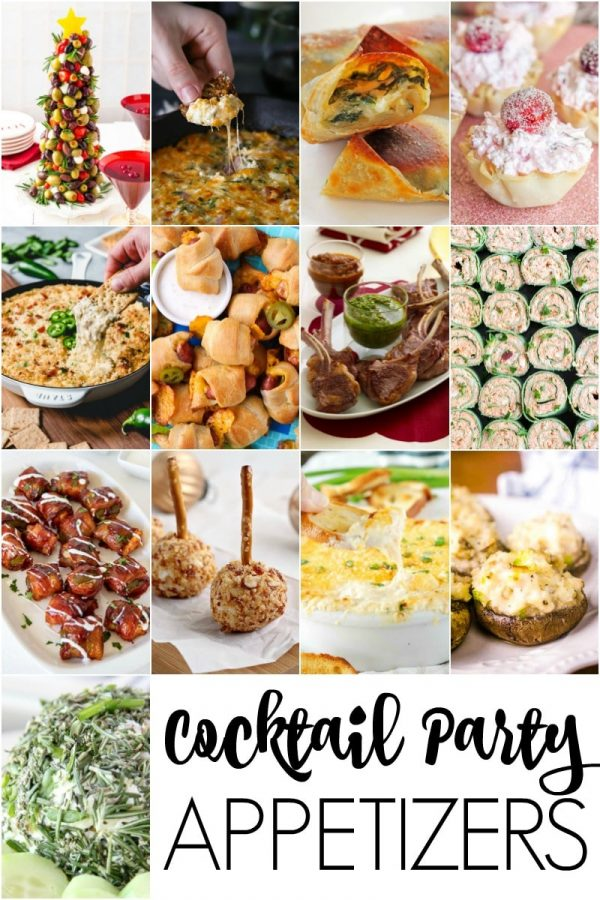 Amazing Cocktail Party Appetizers that are perfect for entertaining guests!