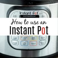 How to Use an Instant Pot or electric pressure cooker. Instructions on how to set your instant pot, what the difference between natural and quick release is, and Instant pot recipes that everyone will love. #instantpot #instantpotrecipes #pressurecooker #pressurecookerrecipes #homemadeinterest