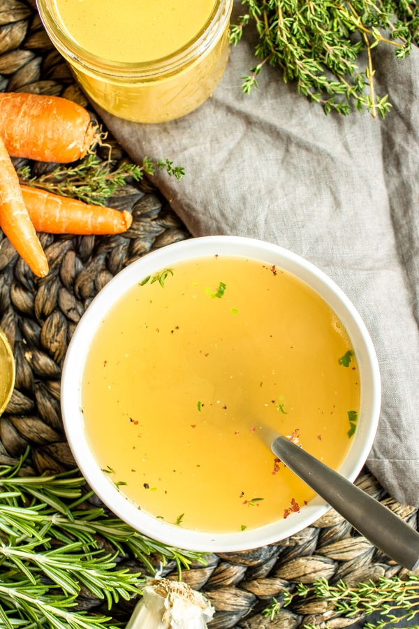 How to make Chicken Broth for soups