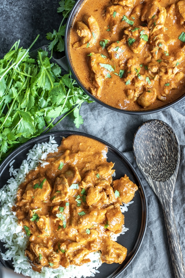 Instant Pot Low Carb Butter Chicken that is keto