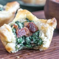Spinach Puff Pastry appetizer