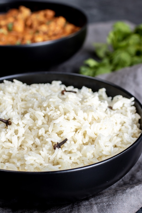 Instant Pot Basmati Rice & Butter Chicken