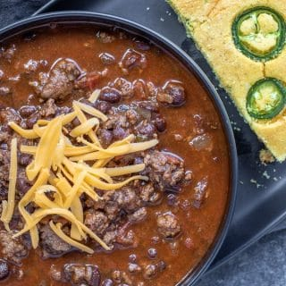 game day Instant Pot Chili