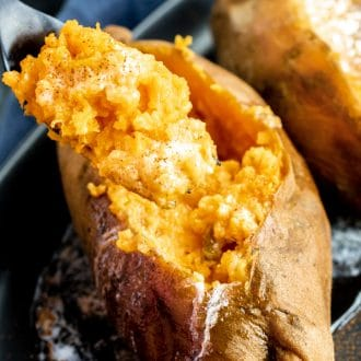 Instant Pot Sweet Potatoes made in minutes
