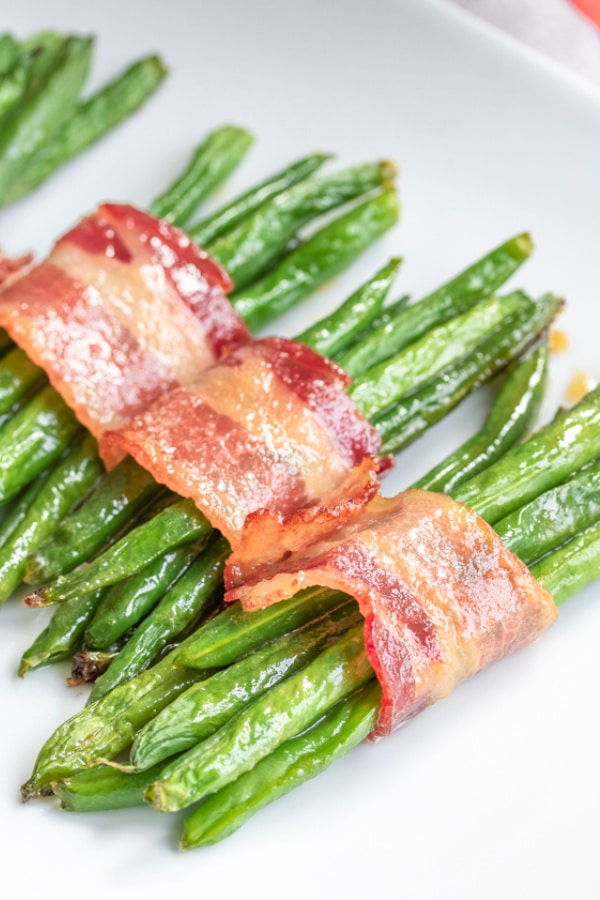 bundles of Bacon Wrapped Green Beans