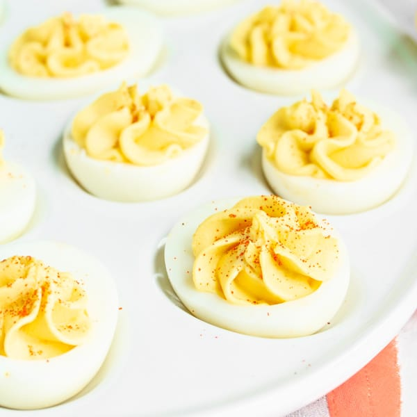 make ahead Classic Deviled Eggs