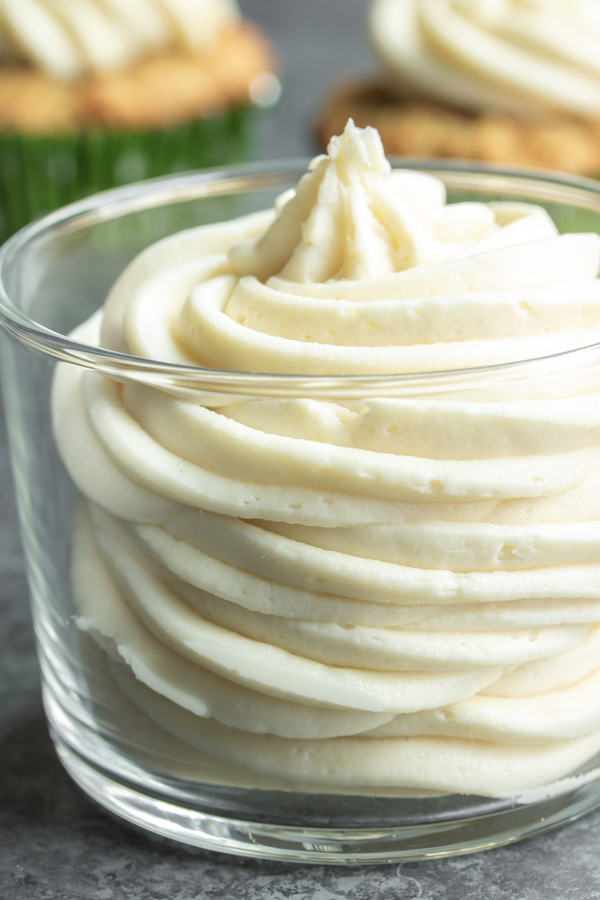 Keto Cream Cheese Frosting made with Swerve