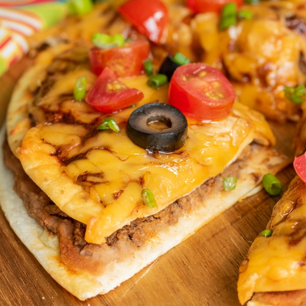 cut Mexican Pizza