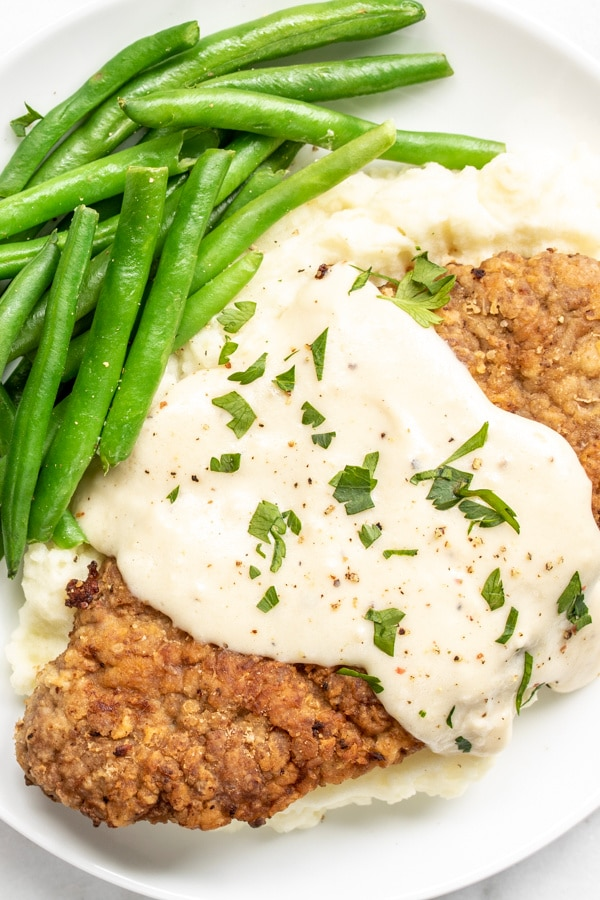 easy family dinner recipe Chicken Fried Steak