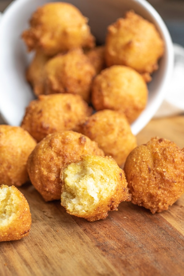 perfect side of Hush Puppies for a bbq