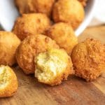 bite size Hush Puppies
