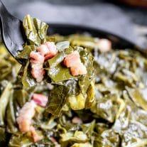 Instant Pot Turnip Greens or Instant Pot Collard Greens