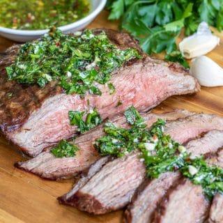 juicy tender Chimichurri Steak