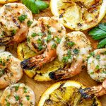 quick and easy Citrus Marinated Grilled Shrimp