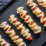 Mummy Dogs is an easy Halloween recipe