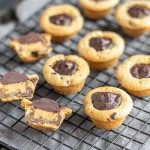 bite size Peanut Butter Cookie Cups